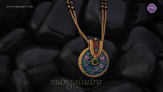 Rebha Gold Mangalsutra | Fancy Mangalsutra Designs | PNG Online Store