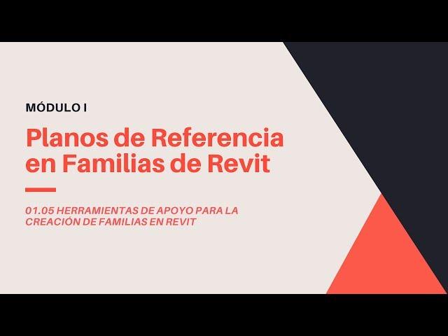 Familias en Revit 2020 | 05 02 Importancia de los planos de Referencia de Familias en Revit