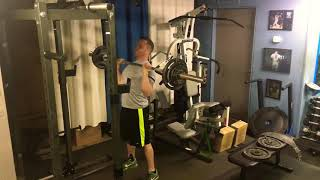 Overhead Press - 130lbs for 5 reps