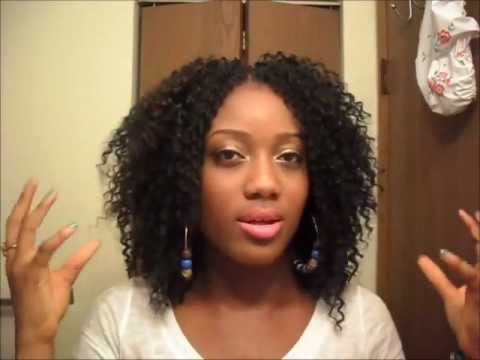 Kelly Rowland Inspired Hair Crochet Braids - YouTube