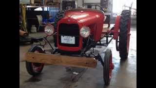 Points Model A Ford Tractor Project Completed