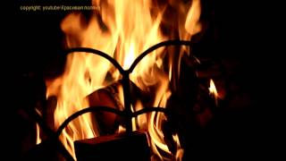Камин, дождь ветер, гроза, гром, медитация. 30 minutes fire and rain & FullHD fireplace
