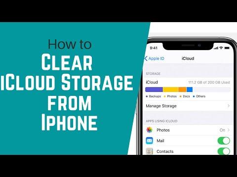 Clear ICloud Storage From Iphone   Delete ICloud Backup   ICloud Guide