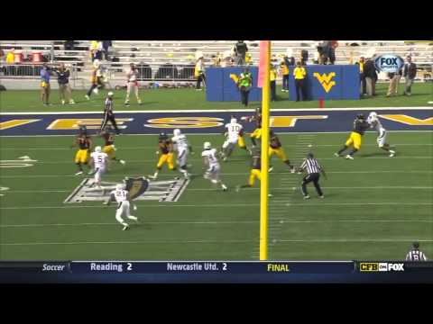 West Virginia QB Geno Smith vs Baylor ᴴᴰ