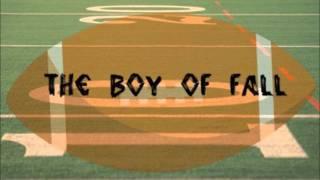 Boys of Fall- Kenny Chesney (lyrics)