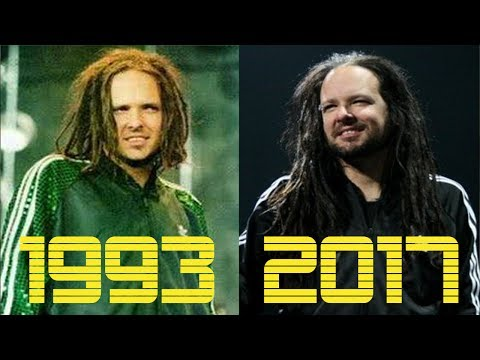 The Evolution of Korn 1993  2017