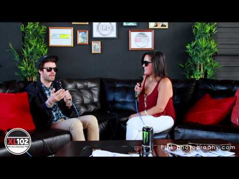 Passion Pit Video Interview : XL102's Big Field Day 2015