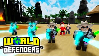 ROBLOX World Defenders - WORKING WITH THE MAD SCENTIST....