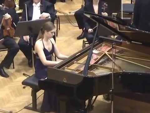 Maurice Ravel: Piano concerto in G major, Sara Rustja Turniski, piano (1st part)