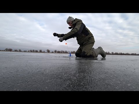 Оставил жерлицы без присмотра в Астрахани и вот что произошло! Зимняя рыбалка на жерлицы 2019.