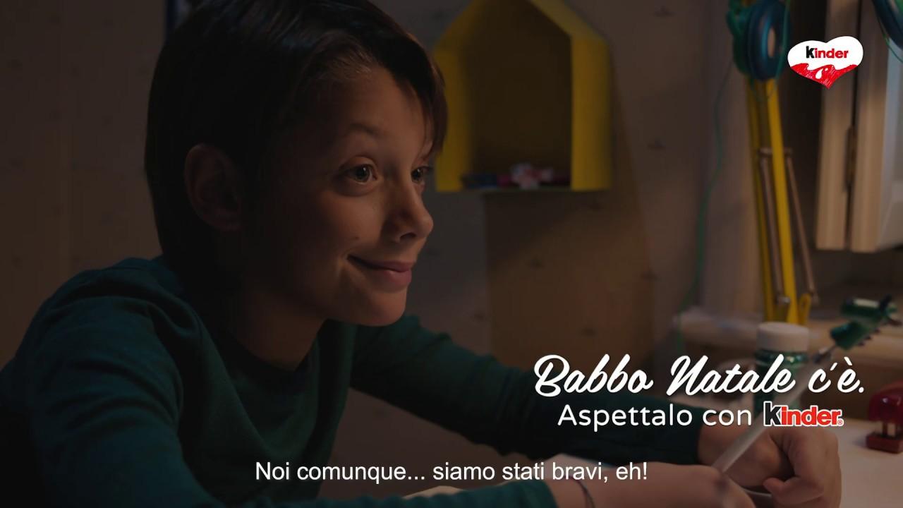 Download Natale 2018 Kinder - Lettera a Babbo Natale - spot 15 sec.