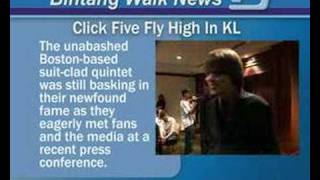 Click Five Fly High in JW Marriott, Kuala Lumpur, Malaysia