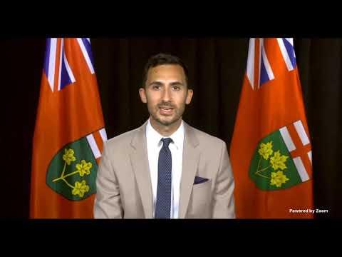 Stephen Leece, Ontario's Minister of Education | Virtual Educa Connect