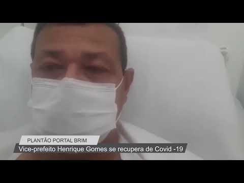 Plantão Noticiário Portal BRIM: Vice-Prefeito de Búzios Henrique Gomes se recupera do COVID-19.