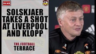 Solskjaer takes a bitter shot at Liverpool! Manchester United vs Liverpool TFT Preview