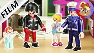 摩比游戏 Playmobil 玩偶影片 我的天 家里入室抢劫 小偷!怎么办