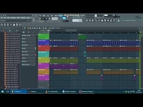 My ba  Magnom ft Joey B Remake in fl studio 12 using purity lunoxic plugin