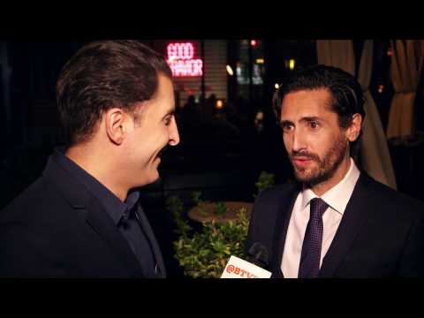 "Juan Diego Botto at the ""Good Behavior"" Premiere Behind The Velvet Rope with Arthur Kade"