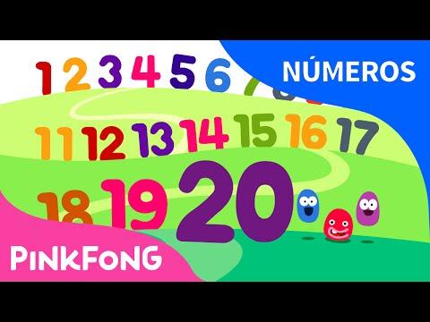 Contando del 1 al 20   Números   PINKFONG Canciones Infantiles