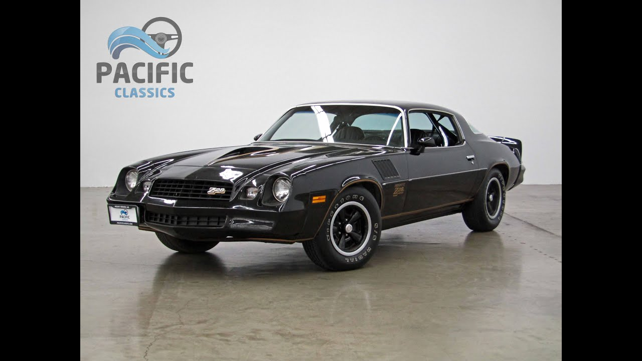 1978 Chevrolet Camaro Z28 Youtube