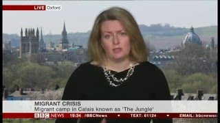 Professor Cathryn Costello interviewed on BBC News, 29 February 2016