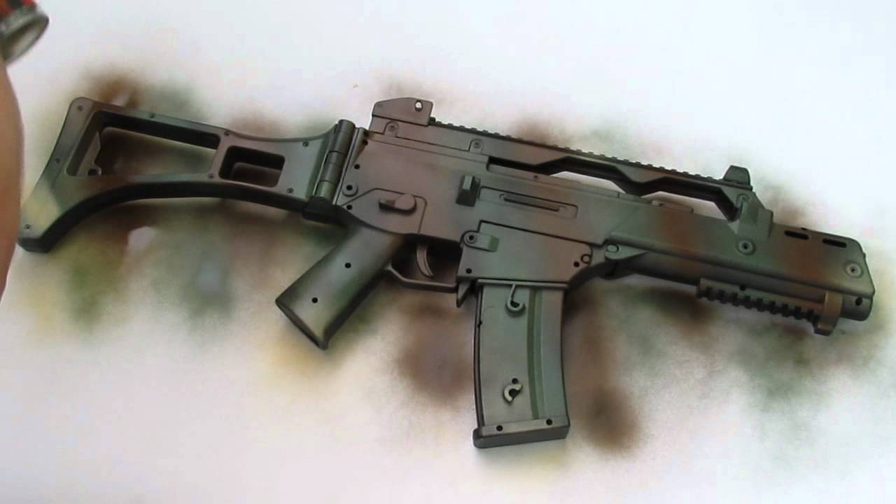 How To Remove Paint From A Airsoft Gun
