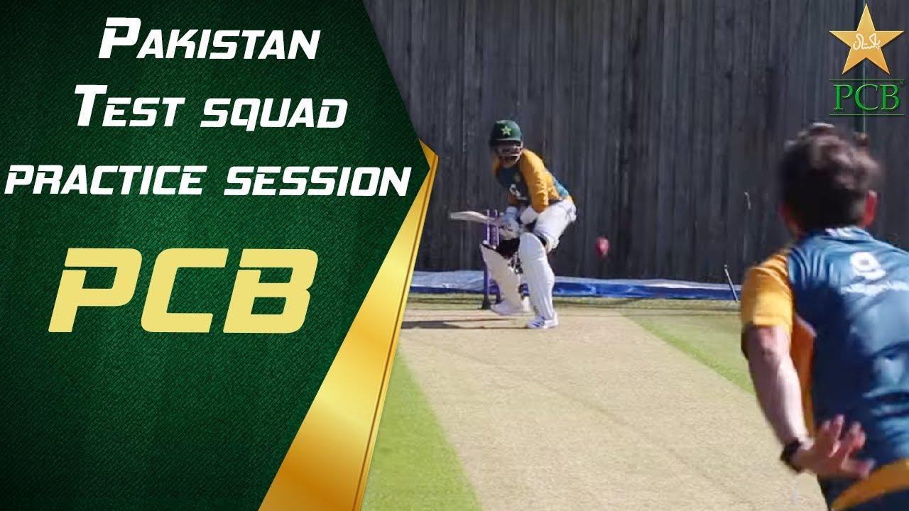 Pakistan Test squad practice session at the Ageas Bowl, Southampton