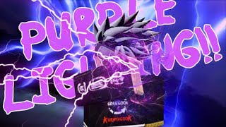 ROBLOX | Purple Lightning Kg Showcase! /w Arta + dhadow | Shinobi Life OA