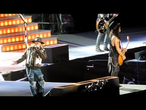 Guns N' Roses Tour 2016 Buenos Aires – Patience / The Seeker / Paradise City