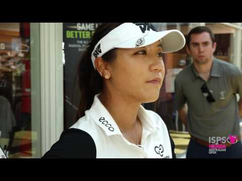 Lydia Ko after round one of the 2017 Women's Australian Open