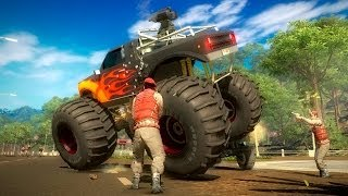 Just Cause 2 - Gameplay Fun Time With police