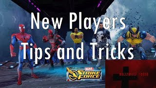 Marvel Strike Force - New Players Tips and Tricks