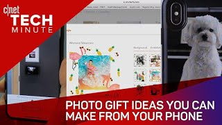 Photo gift ideas you can make from your phone - Tech Minute