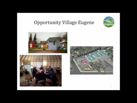 Eugene City Council Wednesday Work Session: November 16, 2016