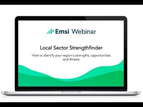 Local Sector StrengthFinder Webinar