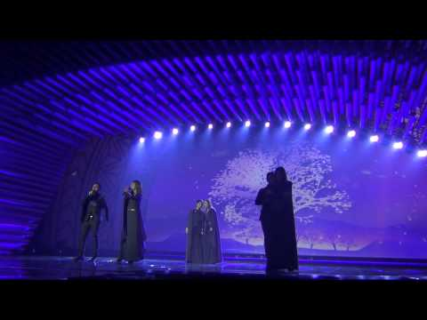 ESCKAZ In Vienna: Genealogy (Armenia) - Face The Shadow (Final Dress Rehearsal)