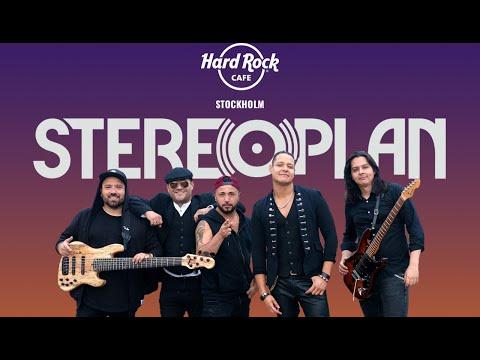 Steroplan Live at Hard Rock Cafe Stockholm Nov 19th. Free entrance.
