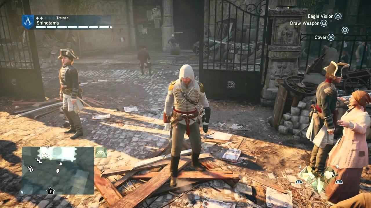 Assassin S Creed Unity Ghost Riders Youtube