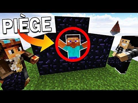 ON PIÈGE DES JOUEURS DANS NOTRE BASE ?! | Minecraft Bed Wars Troll