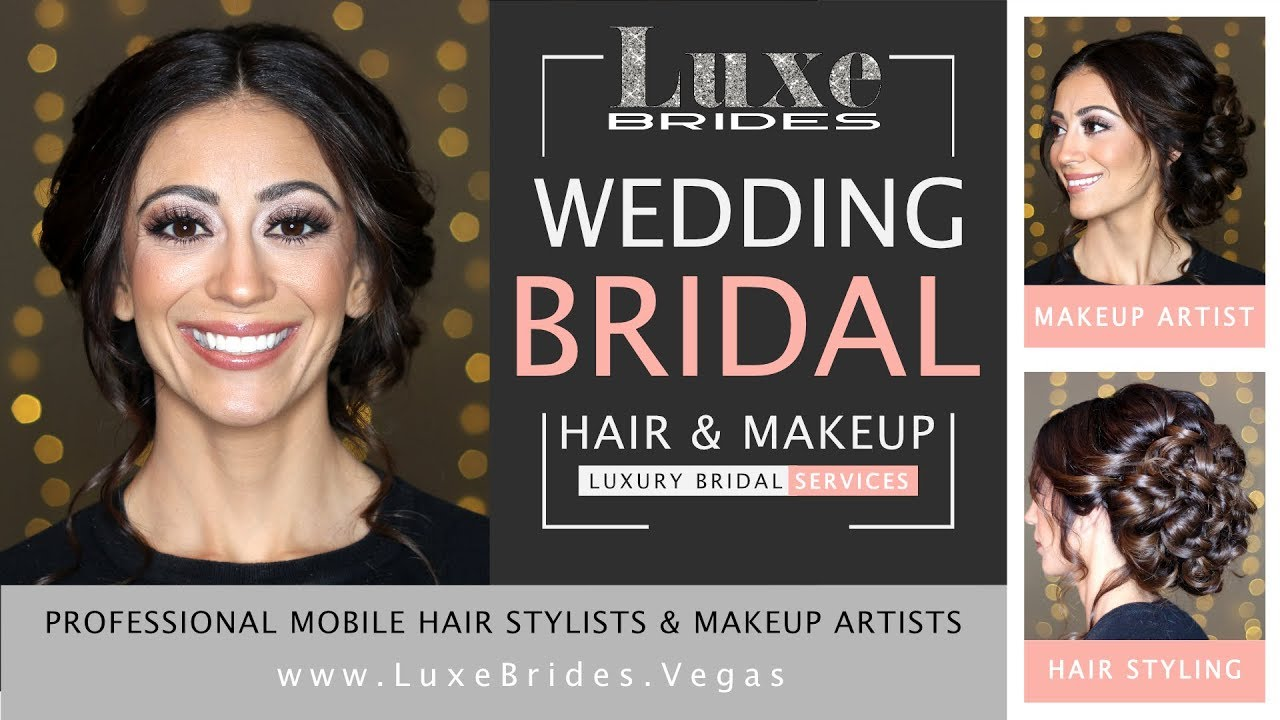 Wedding Bridal Mobile Hair Stylist Makeup Artist Services Las Vegas Destination