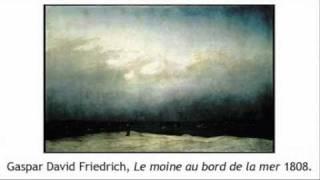 """Caspar David Friedrich: """"Le Moine au bord de la mer"""""""