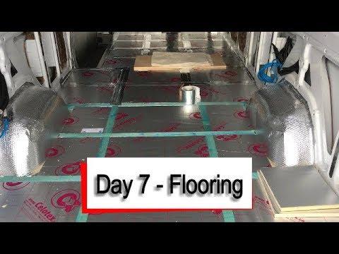 #Vanlife - Insulating the Van Floor the right way!