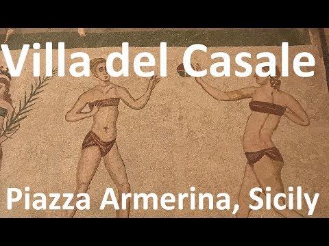 Villa Romana Del Casale In Piazza Armerina (Sicily - Part 1)
