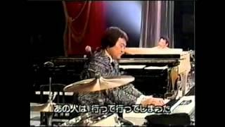 五木ひろしのさまざまな楽器演奏と、吉幾三の絶妙な掛け合い。
