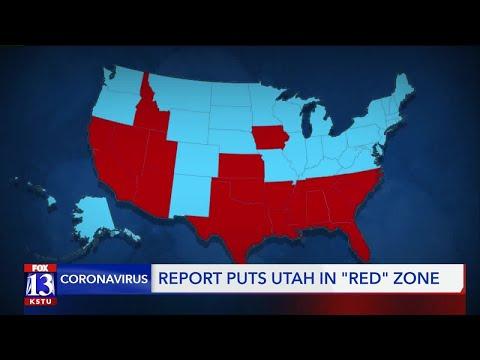 Utah Listed In Coronavirus 'Red Zone' According To White House Task Force Report