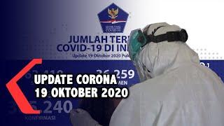 Update Corona 19 Oktober: 365.240 Positif, 289.243 Sembuh, 12.617 Meninggal