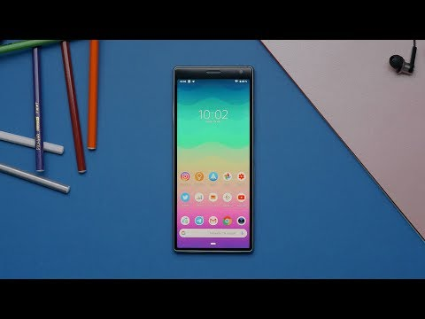 Обзор Sony Xperia 10 Plus: смартфон для кино с экраном 21:9!