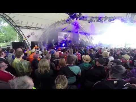 Radiophonic Workshop - Glastonbury: Doctor Who theme 1980 version (Festival 2014 Dr Who BBC)