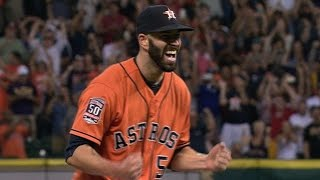 LAD@HOU: Fiers strikes out 10 Dodgers in no-hitter