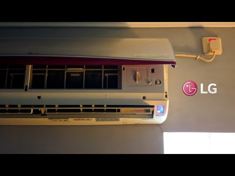LG Terminator Air Conditioner | Filters Cleaning
